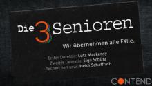 Neue Hörspiel-Serie: Die 3 Senioren